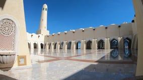 Panorama podwórzowy Uroczysty meczet zbiory