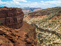 Free Panorama Point At Capitol Reef Royalty Free Stock Images - 38680199