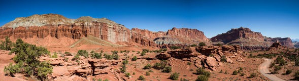 Panorama Point, Capitol Reef National Park Stock Images