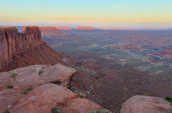 Panorama Point, Maze District of Canyonlands National Park, Utah Stock Photo