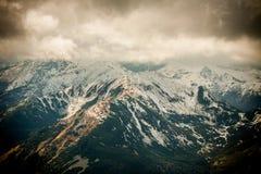 Panorama of Polish Tatra mountains Royalty Free Stock Image