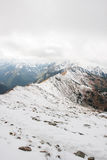 Panorama of Polish Tatra mountains Royalty Free Stock Images