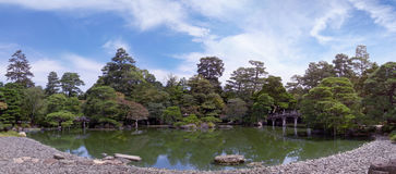 Panorama of the pond imperial palace. Stock Photography