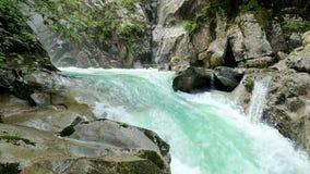 Panorama of the Ponte Basso Waterfalls - 5K