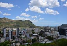 Panorama of Port Louis 2. Panorama of Port Louis, Mauritius Stock Image