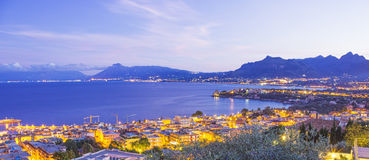 Panorama. Of Porticello, near Palermo Royalty Free Stock Photography