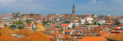 Panorama of Porto Royalty Free Stock Photography