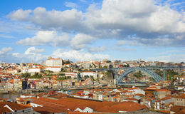 Panorama of Porto, Portugal Stock Image