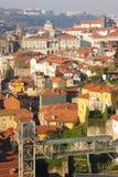 Panorama. Porto. Portugal stock afbeelding
