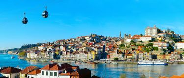 Panorama of Porto, Portugal Royalty Free Stock Photo