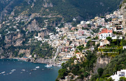 Panorama of Positano Royalty Free Stock Photography