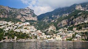 Panorama of Positano Royalty Free Stock Photo