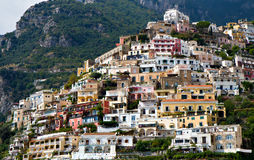 Panorama of Positano, Campania, Italy Royalty Free Stock Image