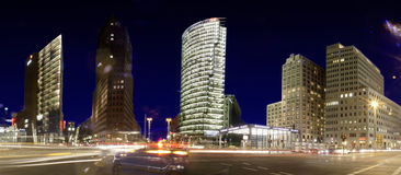 Panorama: Potsdamer Platz Stock Photo