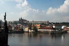 Panorama Praag. royalty-vrije stock foto's