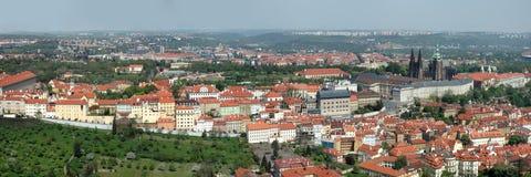 Panorama - Praag Royalty-vrije Stock Afbeeldingen