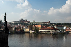 Panorama Praga. fotos de stock royalty free