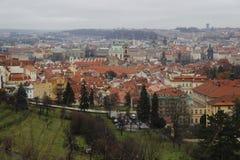 Panorama Praga Zdjęcia Royalty Free