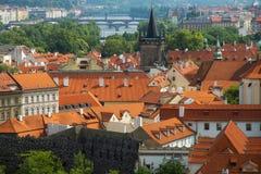 Panorama Praga Fotografía de archivo