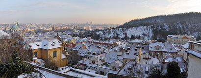 Panorama of Prague Royalty Free Stock Photo