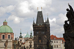 Panorama of Prague Stock Photography