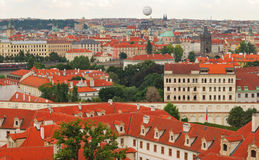 Panorama Prague Stock Photography