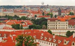 Panorama Prague Stock Photography