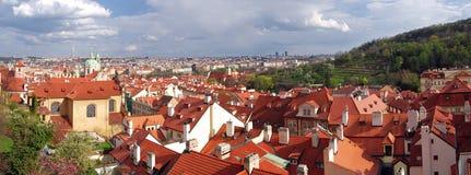 Panorama of Prague Royalty Free Stock Photos