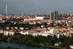 panorama Prague zdjęcia royalty free