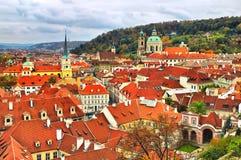 Panorama Prague Castle Stock Photo