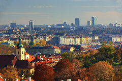 Panorama, Prague Castle, Prague, Czech Republic Royalty Free Stock Photos
