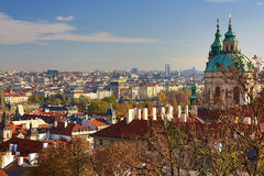 Panorama, Prague Castle, Prague, Czech Republic Stock Photography