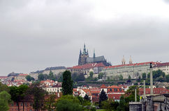 Panorama of Prague Castle Royalty Free Stock Photos
