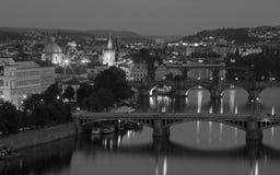 Panorama of Prague, Stock Photo