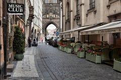Panorama of Prague, Royalty Free Stock Photos