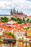 Panorama of Prague, Czech Republic Royalty Free Stock Image