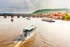 Panorama of Prague, Czech Republic. Stock Photography