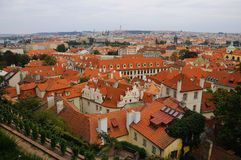 Panorama of Prague Little Quarter Stock Images
