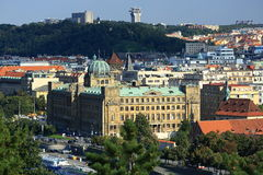 Panorama of the Prague, old Town, Prague, Czech republic Stock Photo