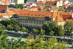 Panorama of the Prague, old Town, Prague, Czech republic Royalty Free Stock Photo