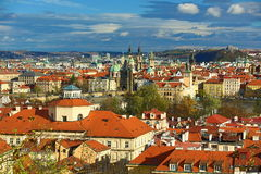 Panorama of the Prague, old Town, Prague, Czech republic Stock Photos