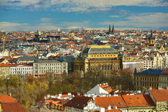 Panorama of the Prague, old Town, Prague, Czech republic Royalty Free Stock Images