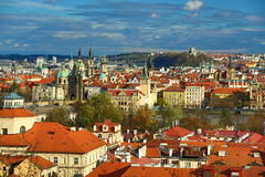 Panorama of the Prague, old Town, Prague, Czech republic Stock Image