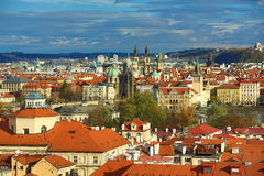 Panorama of the Prague, old Town, Prague, Czech republic Royalty Free Stock Photography