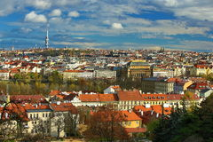 Panorama of the Prague, old Town, Prague, Czech republic Stock Photography