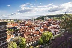 Panorama of Prague Royalty Free Stock Photography