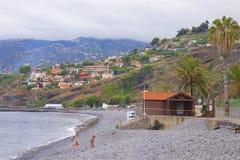 Panorama of Praia Formosa Madeira, Portugal