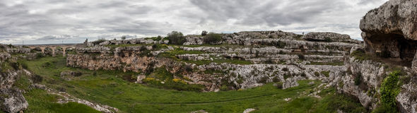 Panorama prehistórico fotos de archivo libres de regalías