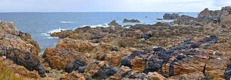 panorama przypływ Obraz Royalty Free