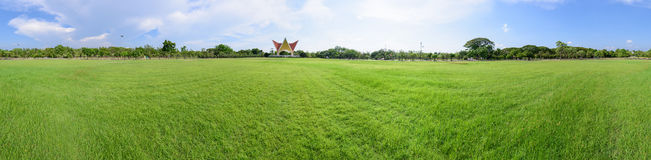 Panorama of public park royalty free stock images